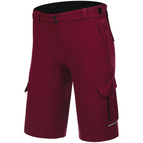 Protective P-Deer Dance Cycling Shorts Men, deep red